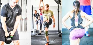 Pictures of some of our CrossFit family training.
