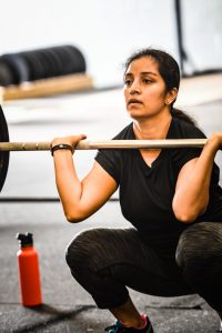 Picture of one of our CrossFit family members.